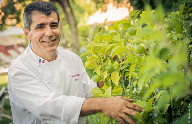 Le chef Heraud, de La table du Cantemerle